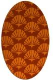 rug #191913 | oval flags rug