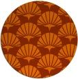 rug #192617 | round contemporary rug