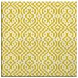rug #202805   square white rug