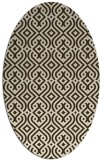 rug #203011 | oval traditional rug