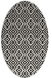 rug #203130 | oval traditional rug