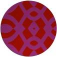 rug #205573   round pink rug