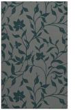 rug #213897 |  blue-green rug