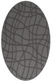 rug #218846 | oval check rug
