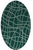 rug #218904 | oval check rug