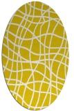 rug #218974 | oval check rug