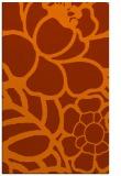 rug #222825 |  red-orange rug