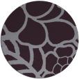 rug #223157   round purple rug
