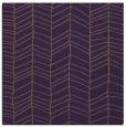 rug #229137   square mid-brown rug