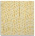 rug #229193 | square yellow rug