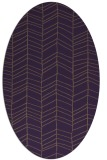 rug #229489 | oval stripes rug