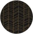 rug #229981 | round black rug