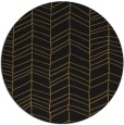 rug #230077 | round black rug