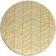 rug #230249 | round yellow rug