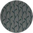 rug #231849 | round green rug