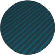 rug #233561 | round blue-green rug