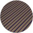 rug #233589 | round blue-violet rug