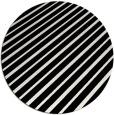 rug #233753 | round black rug