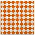 rug #234453 | square red-orange rug