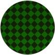 rug #235309 | round green rug