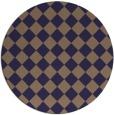 rug #235350   round check rug