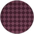 rug #235404   round check rug