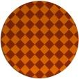 rug #235498   round check rug