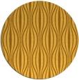 rug #237305 | round yellow rug