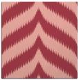 rug #237921 | square pink rug