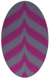 rug #238369   oval stripes rug