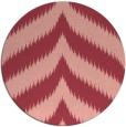 rug #238977   round pink rug