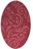 rug #245191 | oval damask rug