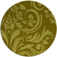 rug #246121 | round light-green rug