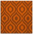 rug #250289 | square red-orange rug