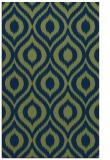 rug #250765 |  green rug