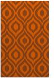 rug #250993 |  red-orange rug
