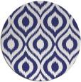 rug #251361 | round white rug