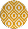 rug #251417 | round light-orange rug