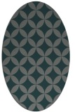 rug #252265 | oval traditional rug