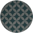 rug #252969   round blue-green rug