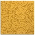 rug #257369 | square light-orange rug