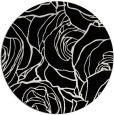 rug #259885 | round black rug