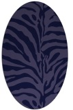 rug #268061 | oval blue-violet rug