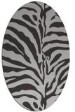 rug #268177 | oval red-orange rug