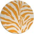rug #269029 | round light-orange rug