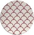 rug #272413   round pink rug
