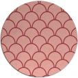 rug #272417   round pink rug