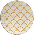 rug #272537 | round light-orange rug