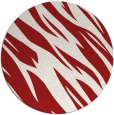 rug #274209   round red rug