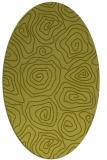 rug #280360 | oval natural rug